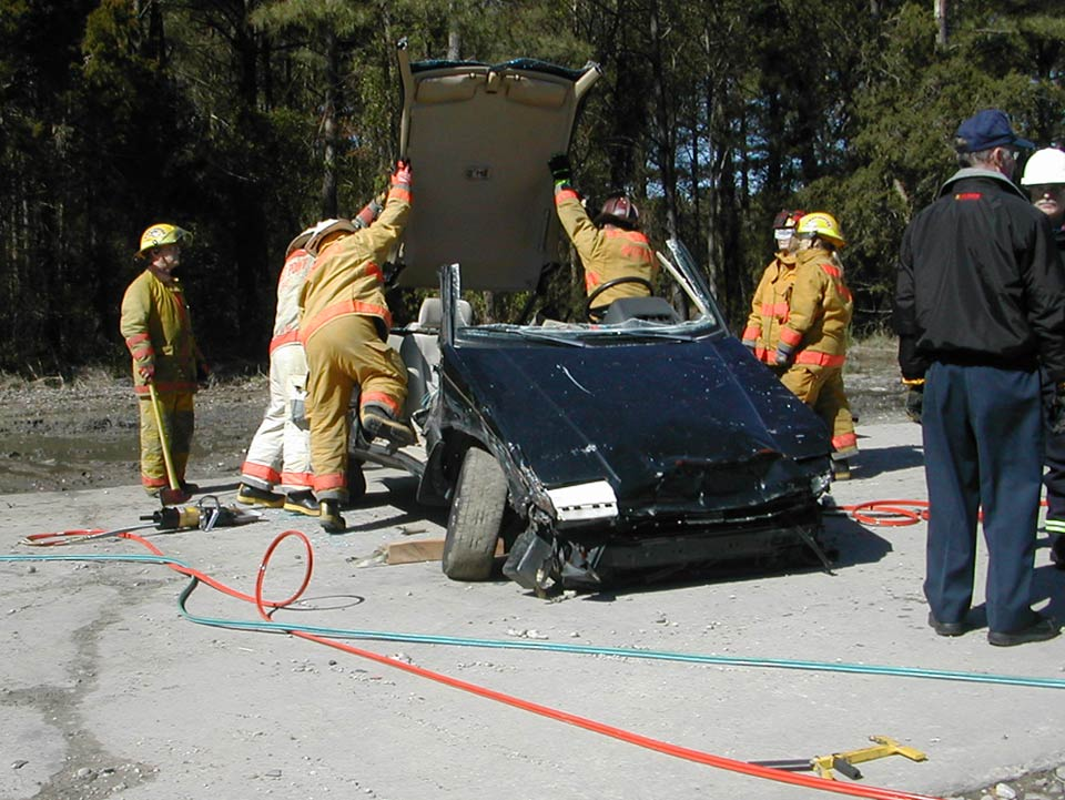 vehicle extrication Vehicle extrication vehicle extrication is the process of removing the vehicle from around a person that has been involved in a motor vehicle accident, when conventional means of exit are impossible or unadvisable.