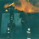 4th Street Fire - A fire in a balloon frame house in town kept the department busy for hours.