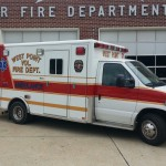Ambulance 31 is a 2006 Horton 523 Re-Chassis